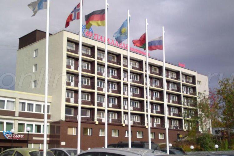 69 параллель, гостиничный комплекс
